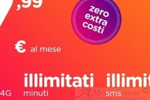 Ho Mobile Minuti e SMS illimitati e 40GB di Internet