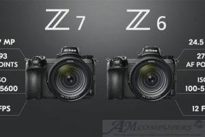 Nikon presenta due modelli la Nikon Z6 e Nikon Z7