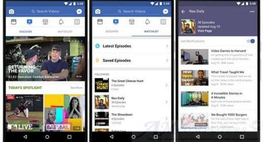 Arriva Facebook Watch streaming gratis per tutti