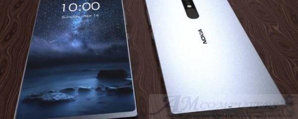 Nokia 9 smartphone con schermo OLED da top di gamma