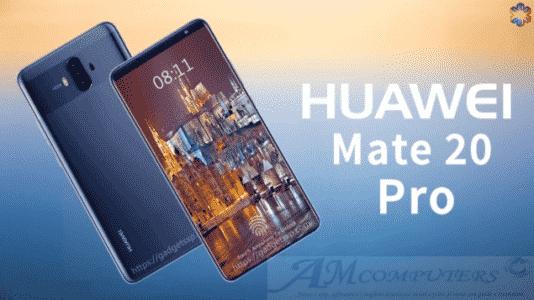 Huawei Mate 20 Pro sarà lo smartphone più potente