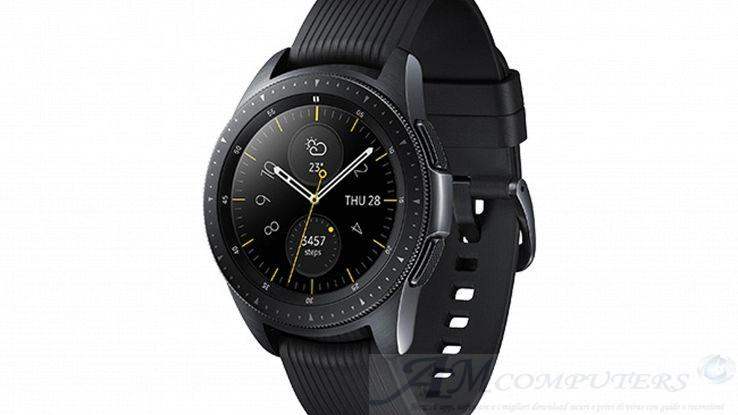 Samsung Galaxy Watch con funzioni per monitorare stress e sonno