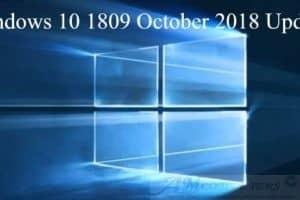 Windows 10 1809 October 2018 Update funzionalita e dettagli