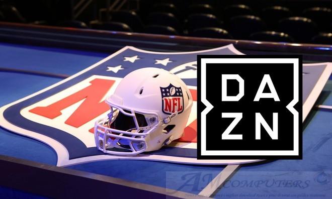 IPTV su DAZN la NFL con 4 incontri alla settimana