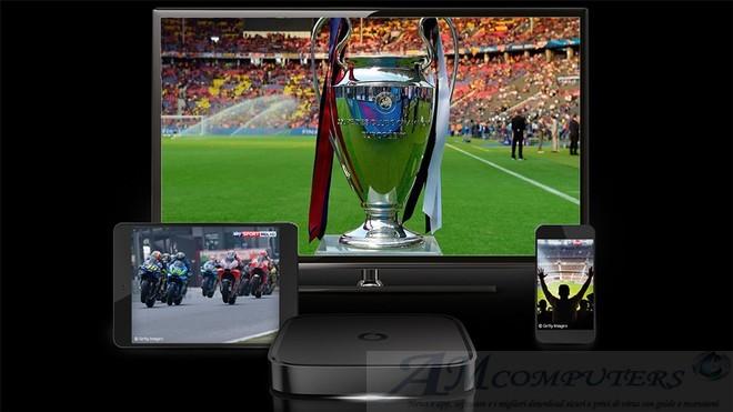 IPTV Vodafone tv con gli incontri di Champions League