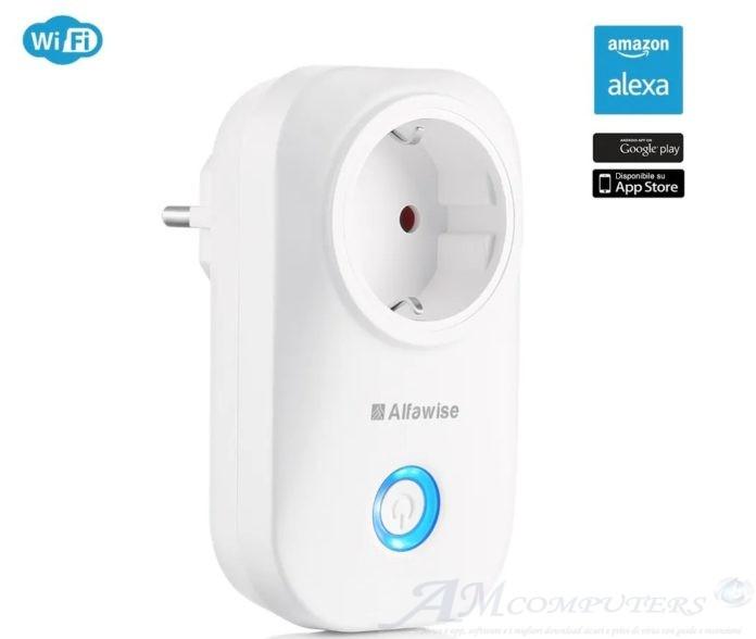 Alfawise WIFI la presa smart intelligente per iOS Android