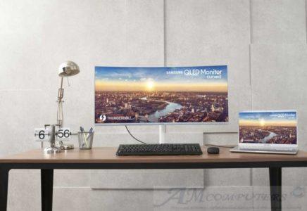 Samsung CJ79 monitor curvo da 34 pollici con Thunderbolt 3