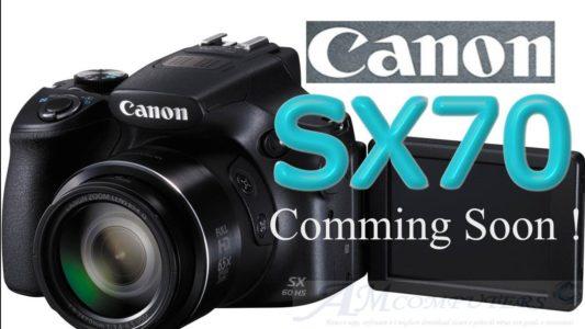 Canon annuncia la nuova fotocamera PowerShot SX70