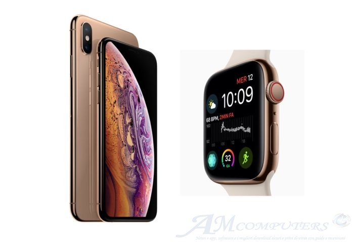 Preordini Attivi per iPhone XS e Apple Watch Series 4