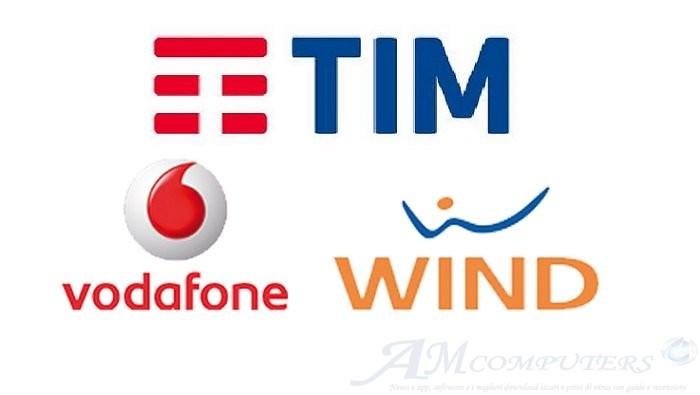 TIM Vodafone e Wind offerte per battere Iliad 100 giga
