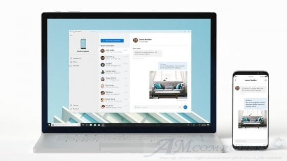 Microsoft App Android arrivano su Windows 10 October 2018 Update