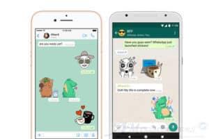 Whatsapp arrivano gli stickers su Android e iOS