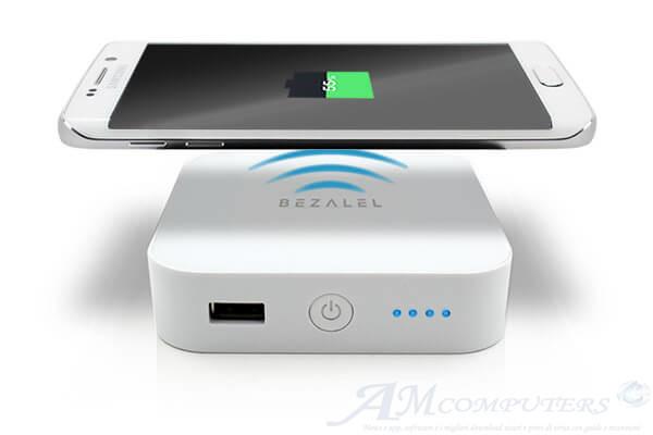 Prelude batteria di riserva wireless che si attacca allo smartphone