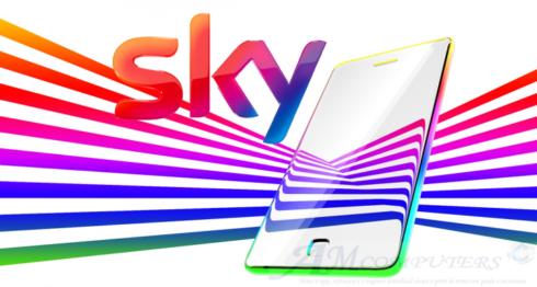 Sky Italia entra nel mercato nella telefonia fissa e mobile