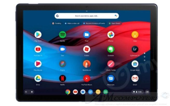Google presenta Pixel Slate un Tablet Ibrido per Game