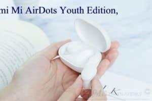 Xiaomi Mi AirDots Youth Edition con un design truly wireless