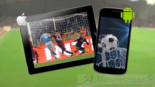Le migliori app per le partite di calcio in streaming
