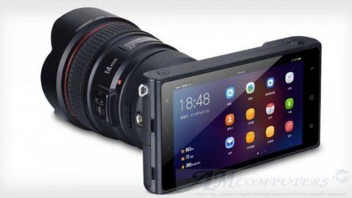 Yongnuo la fotocamera che sembra uno smartphone
