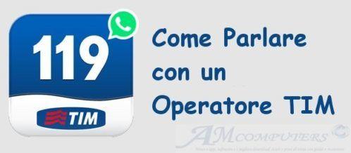 TIM assistenza operatore anche su WhatsApp