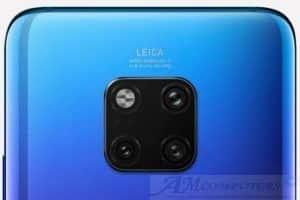 Huawei P30 con quattro fotocamere posteriori