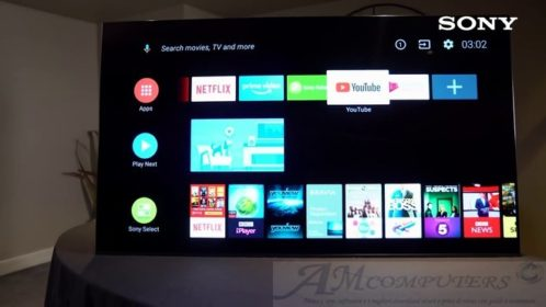 Android TV Oreo in distribuzione sui TV Sony
