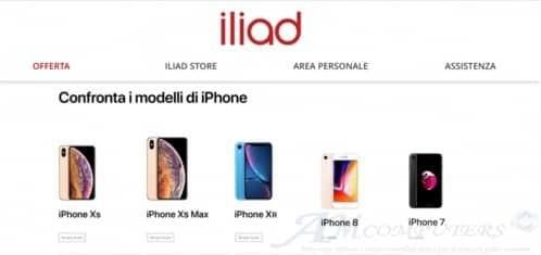 Iliad pubblicati i prezzi iPhone Xs e iPhone Xr