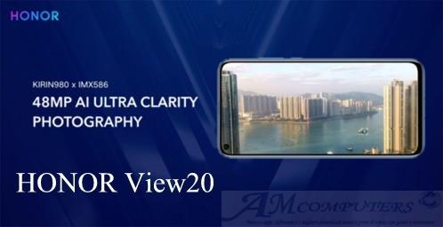 HONOR View20 con fotocamera da 48 megapixel ufficiale