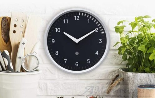 Amazon presenta Echo Wall Clock