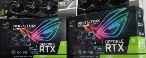 AsusGeForce RTX 2060 ROG Strix e RTX 2080 Ti ufficiale