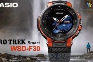 Casio Pro Trek Smart WSD-F30 smartwatch con display a due livelli