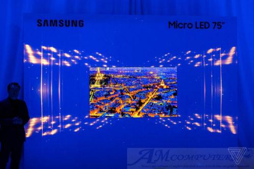 Samsung presenta TV Micro Led da 75 pollici