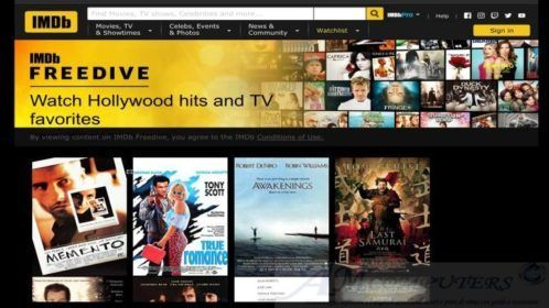 IMDB FREEDIVE servizio Streaming di Amazon gratis