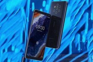 Nokia 9 Pure View smartphone con 5 fotocamere