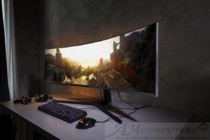 Samsung presenta CRG9 monitor ultrawide QLED