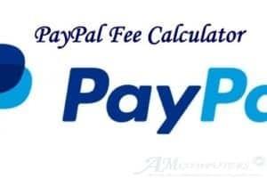 PayPal Fee Calculator applicazione per calcolare le commissioni