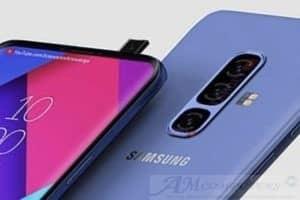 Samsung Galaxy A90 smartphone con Fotocamera Popup