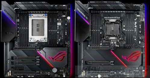ASUS motherboard Zenith Extreme Alpha e Rampage VI Extreme