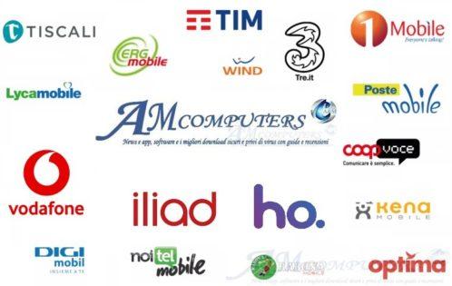 Le Migliori offerte telefoniche di TIM, Vodafone, Iliad, Wind e Tre