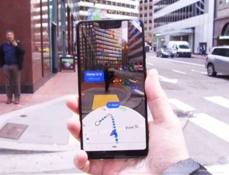 Google Maps arriva la funzione AR nella navigazione