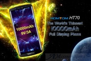 Homtom HT70 lo smartphone con la batteria infinita