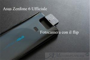 Asus Zenfone 6 ufficiale ha la fotocamera con il flip