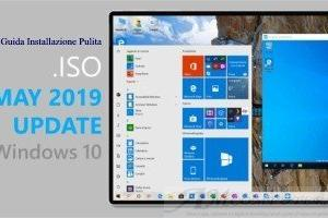 Come installare Windows 10 1903 da Zero