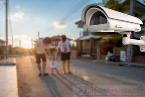 Puntare le Telecamere sulla strada e Legge