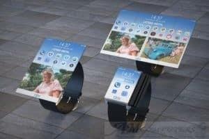 Brevettato l'orologio che diventa Tablet