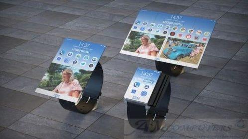 Brevettato orologio che diventa Tablet lo smartwatch transformer