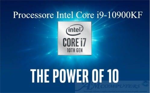 Processore Intel Core i9-10900KF 10 core a 5.2 GHz