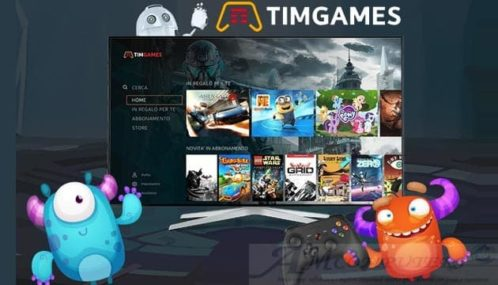 TimGames: Giochi in streaming costi e come funziona