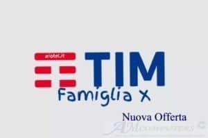 Tim Famiglia X: Nuova Offerta a 5,99 euro al mese
