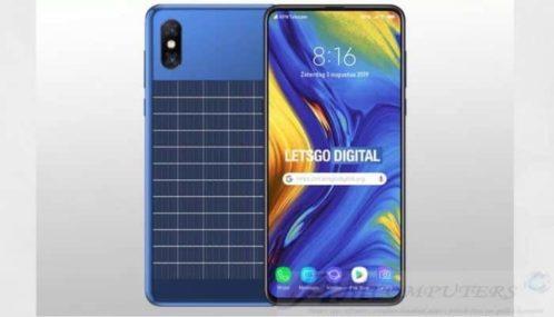 Xiaomi: Lo smartphone che si ricarica con il sole