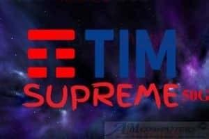TIM Supreme 50GB: minuti illimitati a 5,99 euro al mese